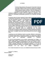 Consejo FHyE_Resolución 3147 del MPPEU