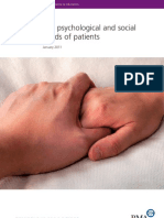 BMA psychologicalsocialneedsofpatients_tcm41-202964