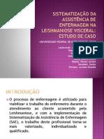 SISTEMATIZAÇÃO DA ASSISTÊNCIA DE ENFERMAGEM NA LEISHMANIOSE~1