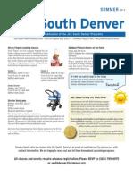 2012 Summer South Newsletter