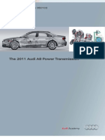 2011 A8 Power Transmission