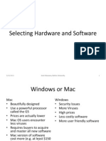 02_Selecting Hardware and Software.