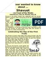 All You Ever Wanted to Know About Shavuot