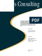 Technical Analysis of Baseline Ecological Risk Assessment and PRAP for Mercury in Onondaga Lake