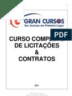 Licitações e Contratos- Lei 8.666