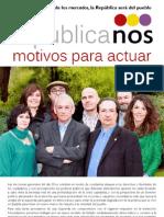 Programa politico de Republicanos Madrid (RPS)
