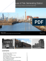 The Adaptive Reuse and Historic Preservation of Fisk Generating Station, Chicago