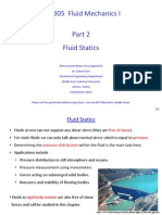 ME 305 Part 2 Fluid Statics