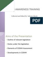 COSHH Awareness Training