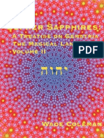 Coleman, Wade - Sepher Sapphires Volume 2 Part 1