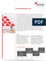 Acora Whitepaper Evolving Role of Mid Market Cio
