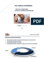 PSQA - Família, Empresa e Patrimônio - 2012