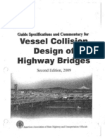Guide Specification and Commentary for Vessel Collision Design of Highway Bridges-V1