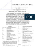 Further ReŽ nement of the Subsonic Doublet-Lattice Method