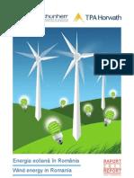 Wind Energy Report 2011