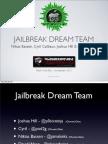 Jailbreak Dream Team - Absinthe 2.0 Jailbreak