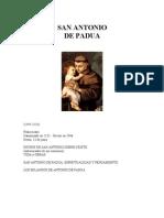 Anon - San Antonio de Padua - Vida Y Obra