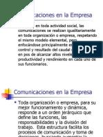 Comunicaciones en La Empresa
