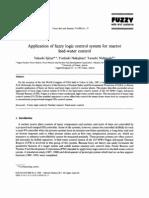 Aplicación de sistema difuso de control lógico para el reactor