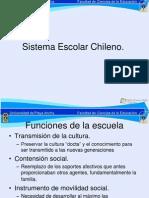 Estructura Sistema Escolar Chileno