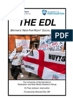 The EDL Britains New Far Right Social Movement