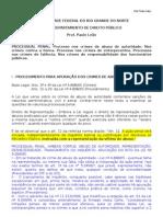 Processo Penal - Roteiro de Aula 03 - Procedimentos Especiais