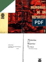 Memoria de Un Reporter. (1965)