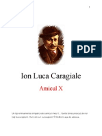 Ion Luca Caragiale - Amicul X
