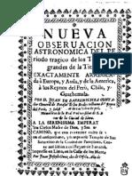 Nueva observación astronómica del periodo trágico de los temblores grandes de la tierra...............(1733)