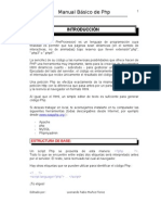 Manual Básico de PHP