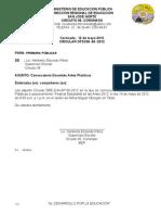 69- 2012 Convocatoria Artes Plàsticas