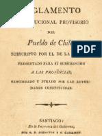 to Constitucional Proviso Rio Del Pueblo de Chile................................ (1812)