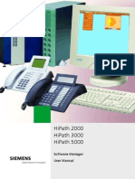 HiPath 3000 5000 V7.0 Software Manager User Guide Issue 1