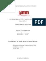 Resumen #1 OCDE  ((Educaciòn Comparada))