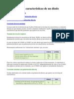 características de un diodo 1M4001