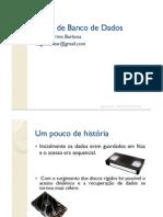 Banco de Dados - Tiago - Aulao