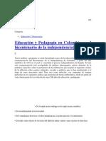 Pedagogia en Colombia