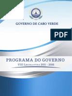 Programa Do Governo 2011-2016