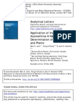 Application of Improved Azomethine-H Method to the Determination of Boron in Soils and Plants