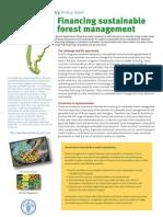 FAO Financing SFM 2008
