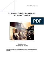 Combined Arms Operations in Urban Terrain - FM 3-06.11
