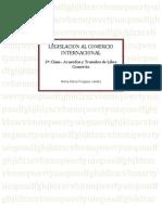 Legislación al Comercio Internacional.- 3a Clase