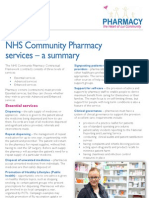 NHS Community Pharmacy Service