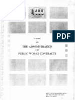 JKR - A Guide for Administration of Public Works Contracts