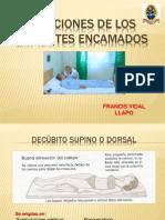 Posiciones de Los Pacientes Encamados