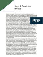 Denis Dutton - A Darwinian Theory of Beauty