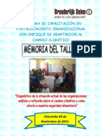 Memoria I taller de FO CHINCHIÑA
