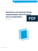 Salesforce Secruity Model Best Practice