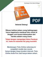 eBook Panduan Cara Membuat Toko Online Di Blogger