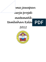 add math project work Kelantan 2/2012